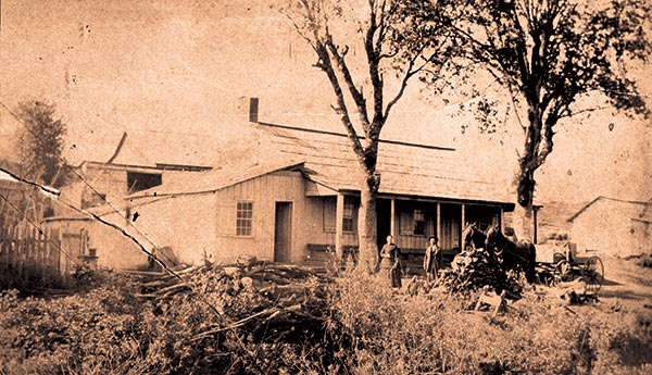 The Kelley Creek Store before 1890