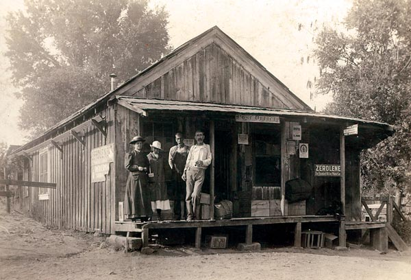 The Rescue Post Office in 1916